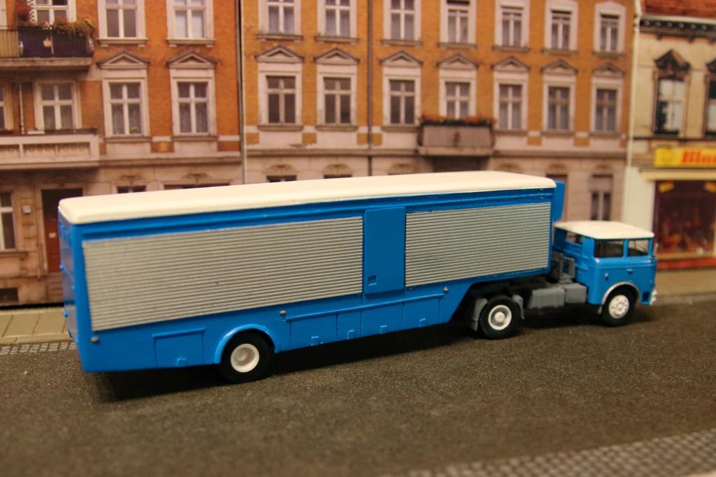 Skoda 706 Sattelzug Blaue Post  Psx_2077
