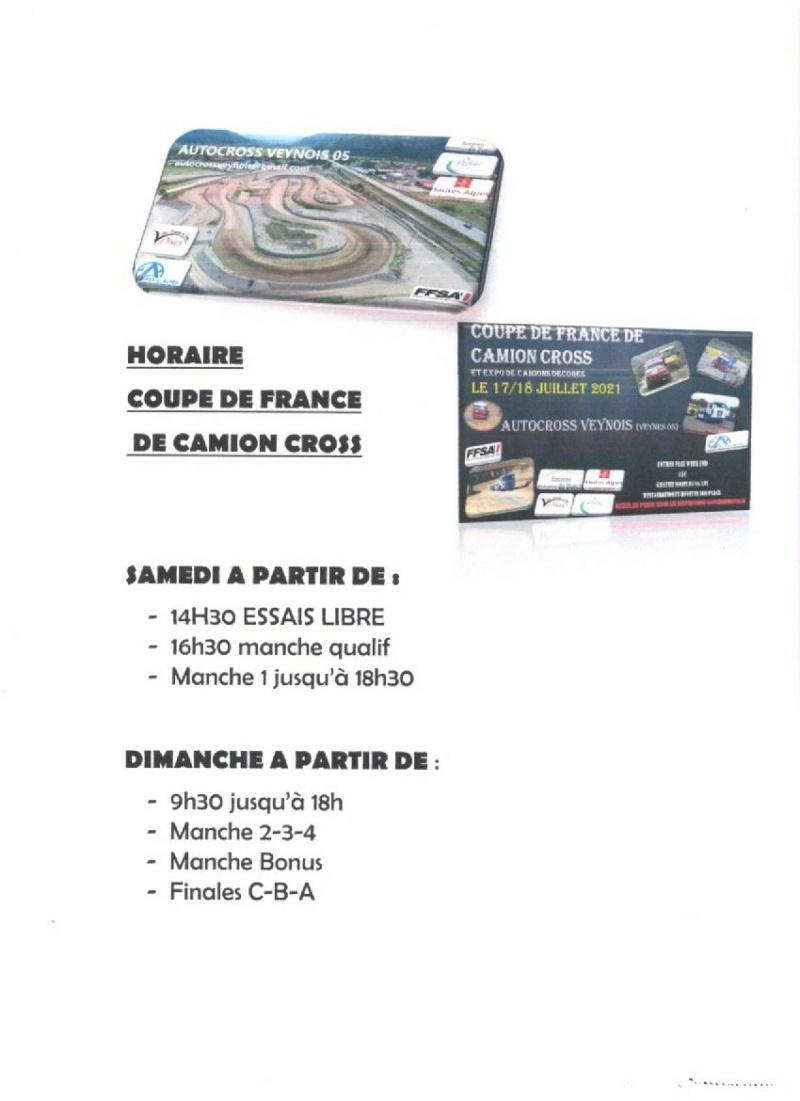 Coupe de France Camion cross 17/18 Juillet 2021 Horair10