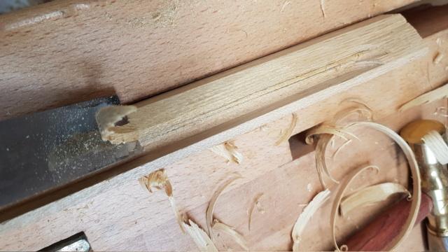 Pose d'un parquet massif en robinier...dans une salle de bain sur plancher bois. - Page 2 20210328