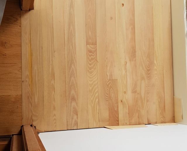 Pose d'un parquet massif en robinier...dans une salle de bain sur plancher bois. - Page 2 20210412
