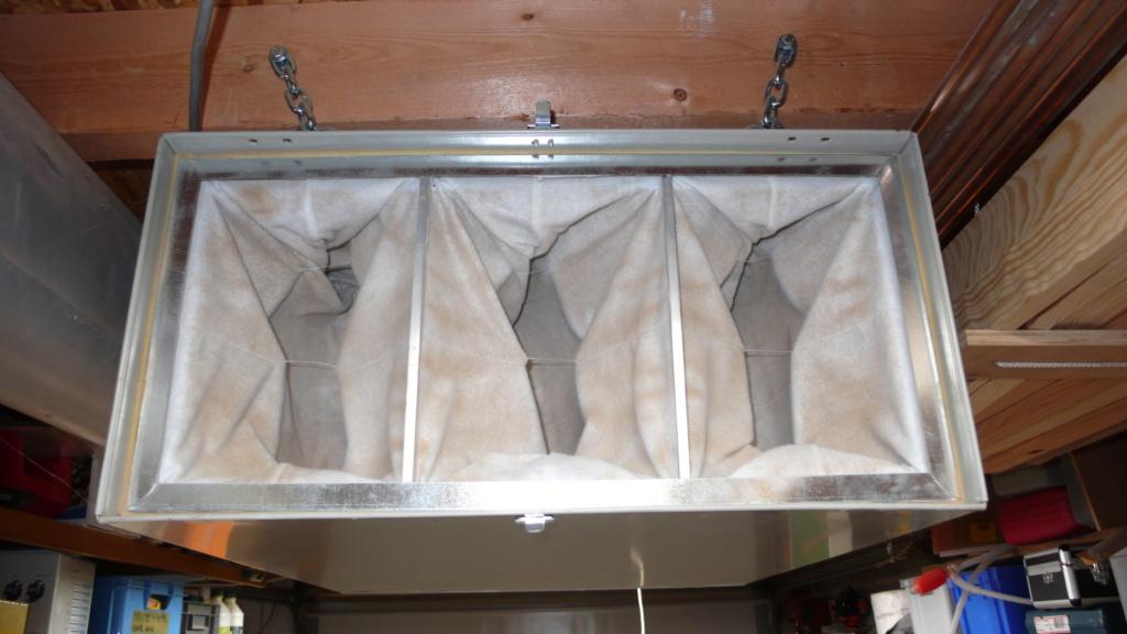 Aspiration centralisée, démarrage automatique de l'aspirateur et guillotines. L1050426