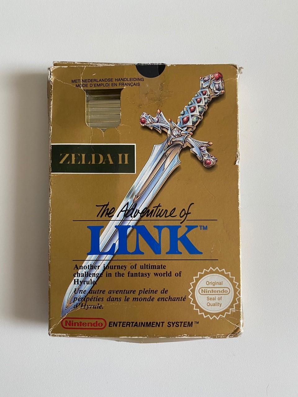 [VDS] Zelda 2 boite complet 110