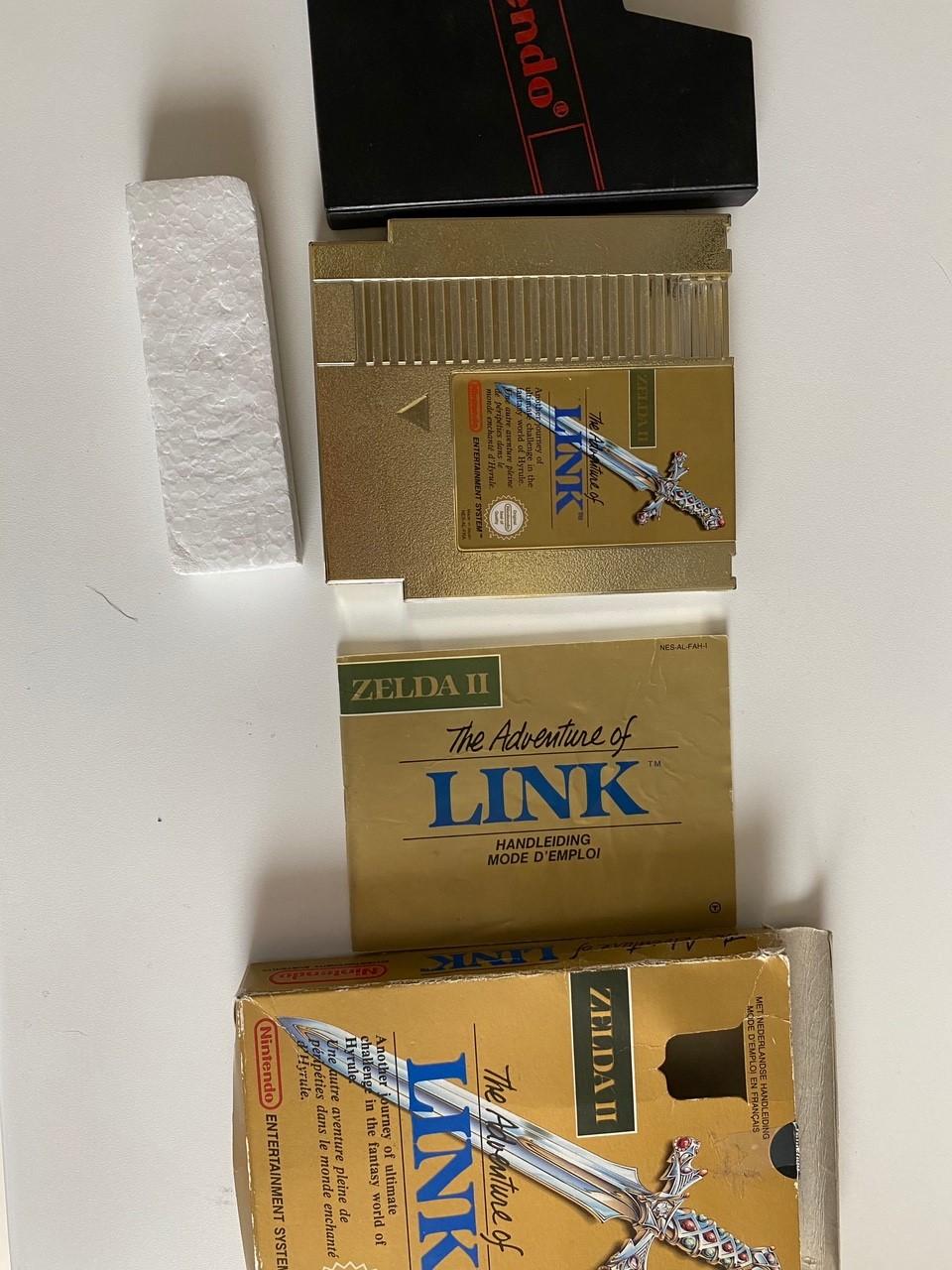 [VDS] Zelda 2 boite complet 510