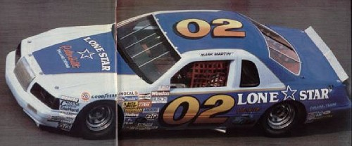 Ford T-bird 1983-86 #02 Mark Martin miller F_198210