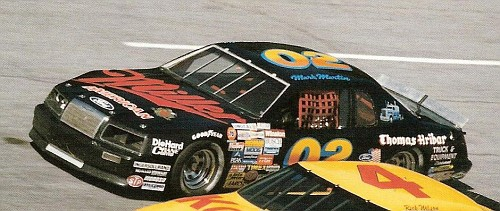 Ford T-bird 1983-86 #02 Mark Martin miller F_198310
