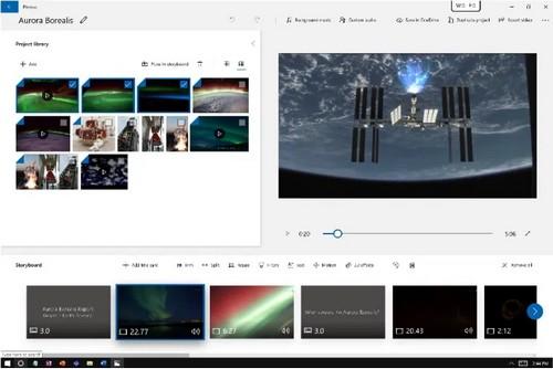 Comment créer une vidéo à partir d'images à l'aide de l'application Microsoft Photos Micros13