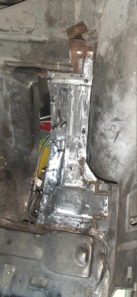 Rear Seat Pan Repair 20200612