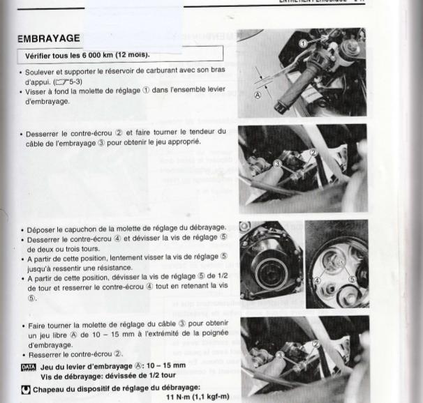 Réglage embrayage GSXR 1000 K6 Captur13