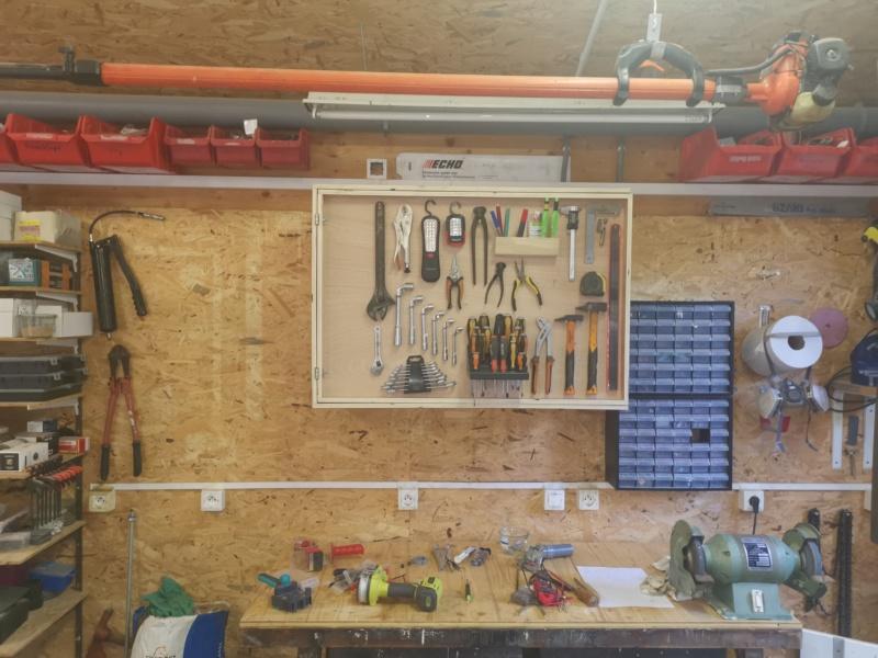 Fabrication de placards pour l'atelier méca / bois - Page 3 Img_2347