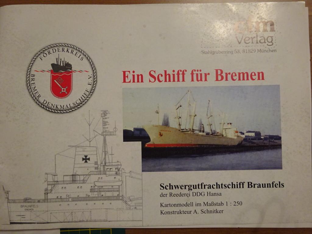 Schwergutfrachtschiff Braunfels der DDG Hansa 1:250 gebaut von Fleetmanager Dsc05910