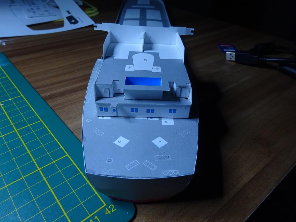 Schwergutfrachtschiff Braunfels der DDG Hansa 1:250 gebaut von Fleetmanager - Seite 3 Dsc06411