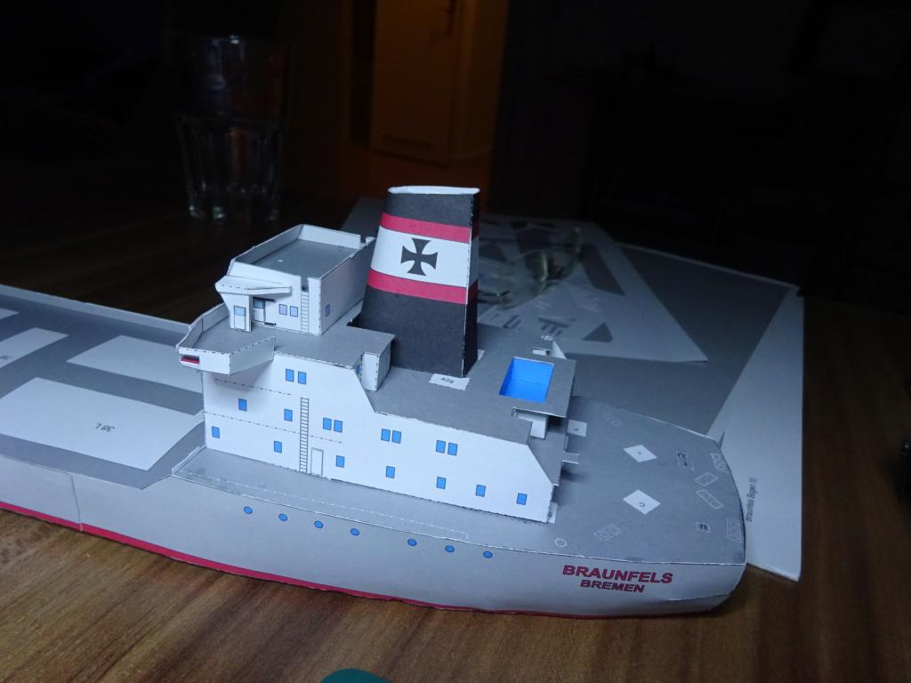 Schwergutfrachtschiff Braunfels der DDG Hansa 1:250 gebaut von Flettmanager - Seite 3 Dsc06423
