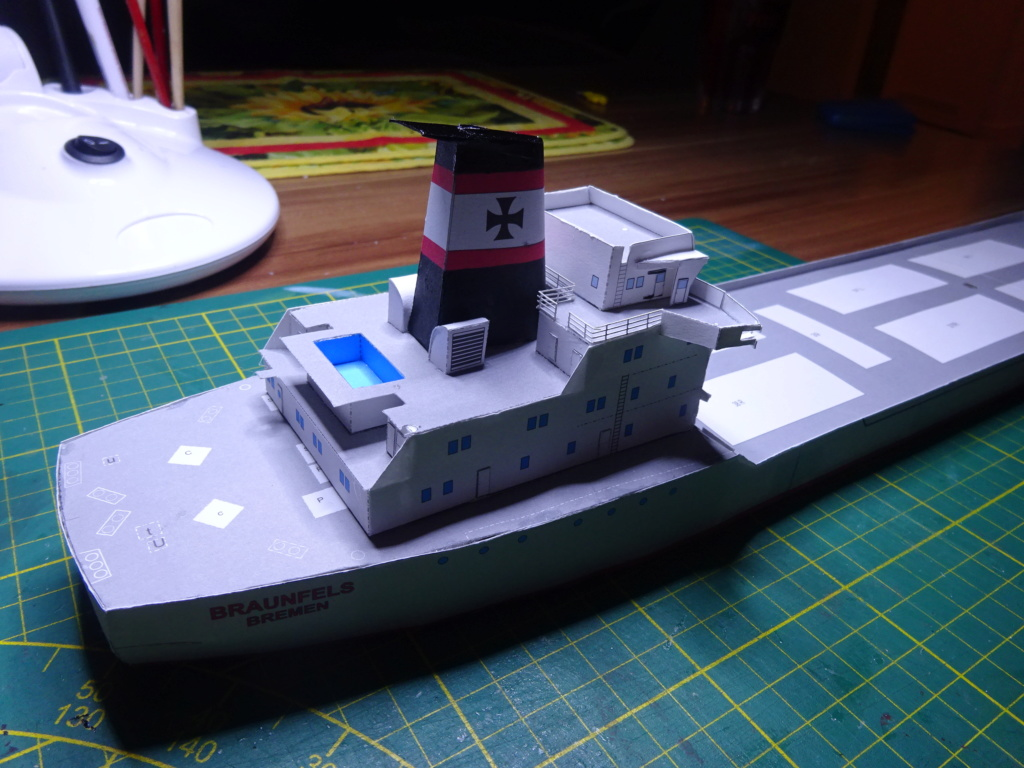 Schwergutfrachtschiff Braunfels der DDG Hansa 1:250 gebaut von Flettmanager - Seite 3 Dsc06424
