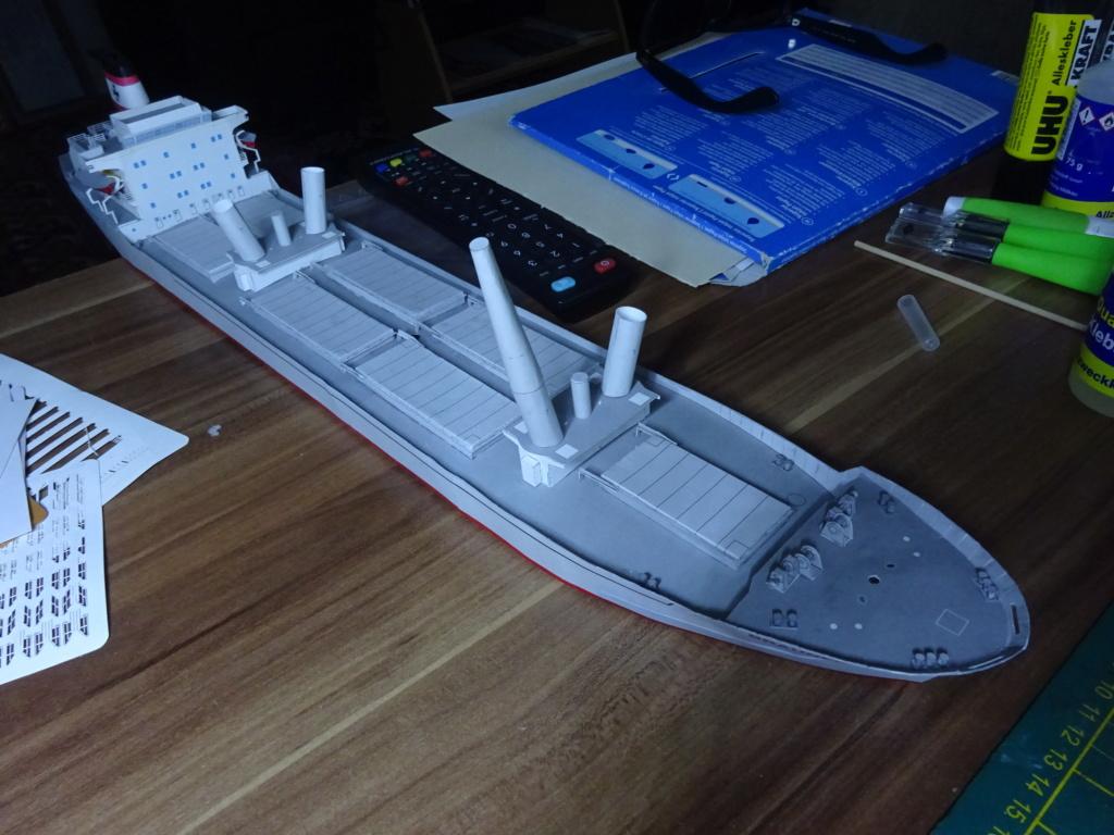 Schwergutfrachtschiff Braunfels der DDG Hansa 1:250 gebaut von Fleetmanager - Seite 7 Dsc07763