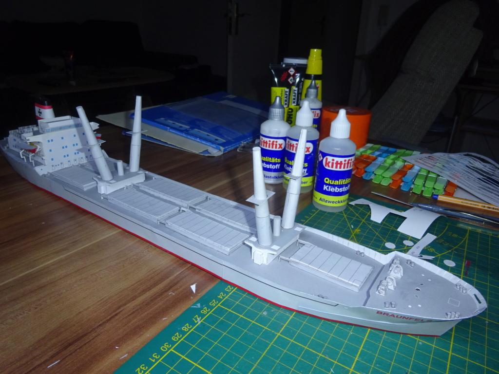 Schwergutfrachtschiff Braunfels der DDG Hansa 1:250 gebaut von Fleetmanager - Seite 7 Dsc07810