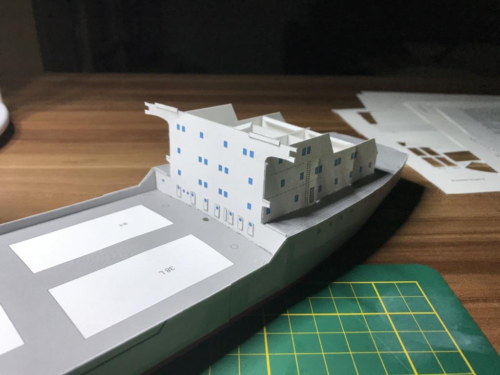 Schwergutfrachtschiff Braunfels der DDG Hansa 1:250 gebaut von Flettmanager - Seite 3 Image102