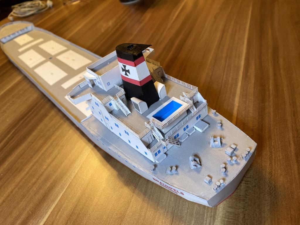 Schwergutfrachtschiff Braunfels der DDG Hansa 1:250 gebaut von Fleetmanager - Seite 4 Image113