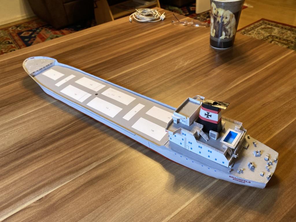 Schwergutfrachtschiff Braunfels der DDG Hansa 1:250 gebaut von Fleetmanager - Seite 4 Image114