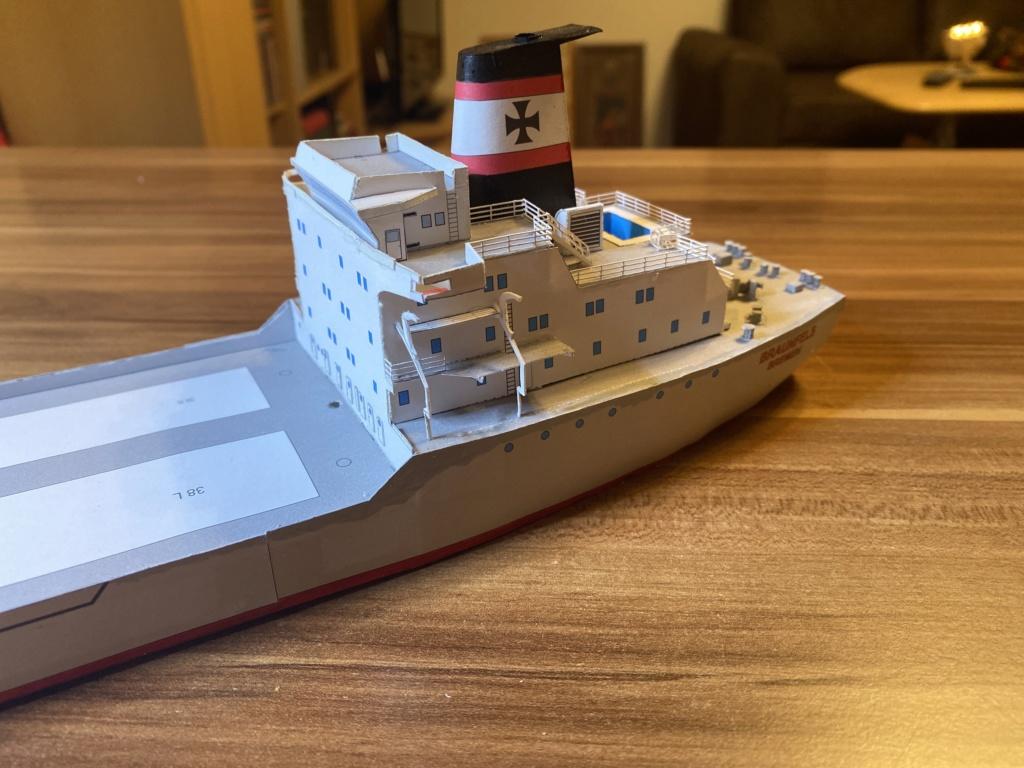 Schwergutfrachtschiff Braunfels der DDG Hansa 1:250 gebaut von Flettmanager - Seite 5 Image117