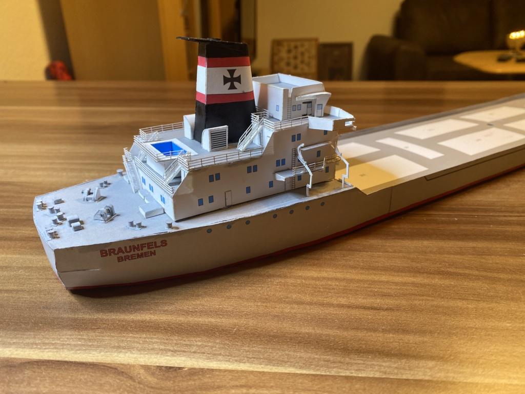 Schwergutfrachtschiff Braunfels der DDG Hansa 1:250 gebaut von Flettmanager - Seite 5 Image118