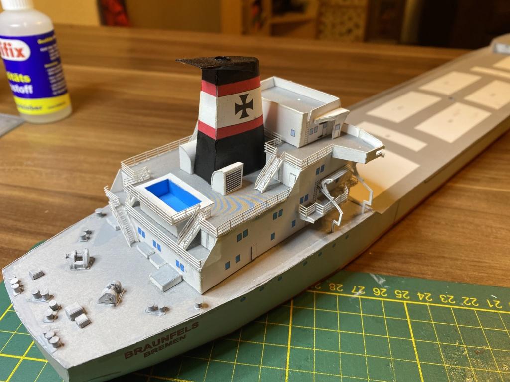 Schwergutfrachtschiff Braunfels der DDG Hansa 1:250 gebaut von Flettmanager - Seite 5 Image122