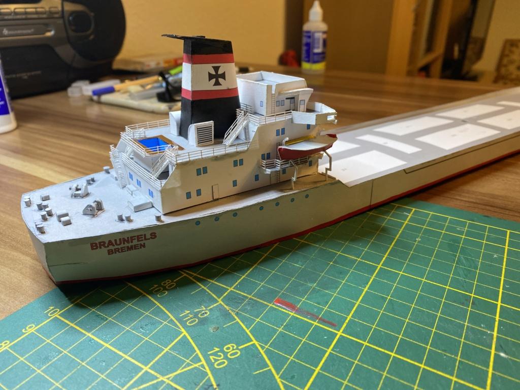 Schwergutfrachtschiff Braunfels der DDG Hansa 1:250 gebaut von Fleetmanager - Seite 5 Image124