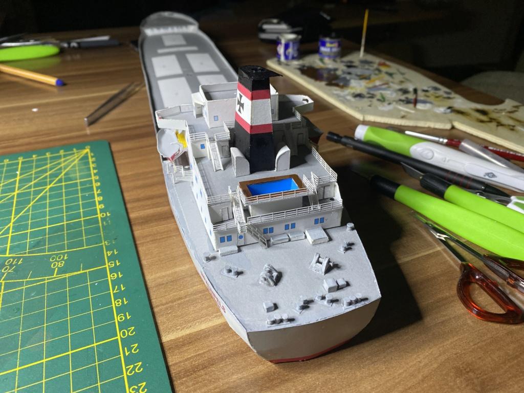 Schwergutfrachtschiff Braunfels der DDG Hansa 1:250 gebaut von Fleetmanager - Seite 5 Image127