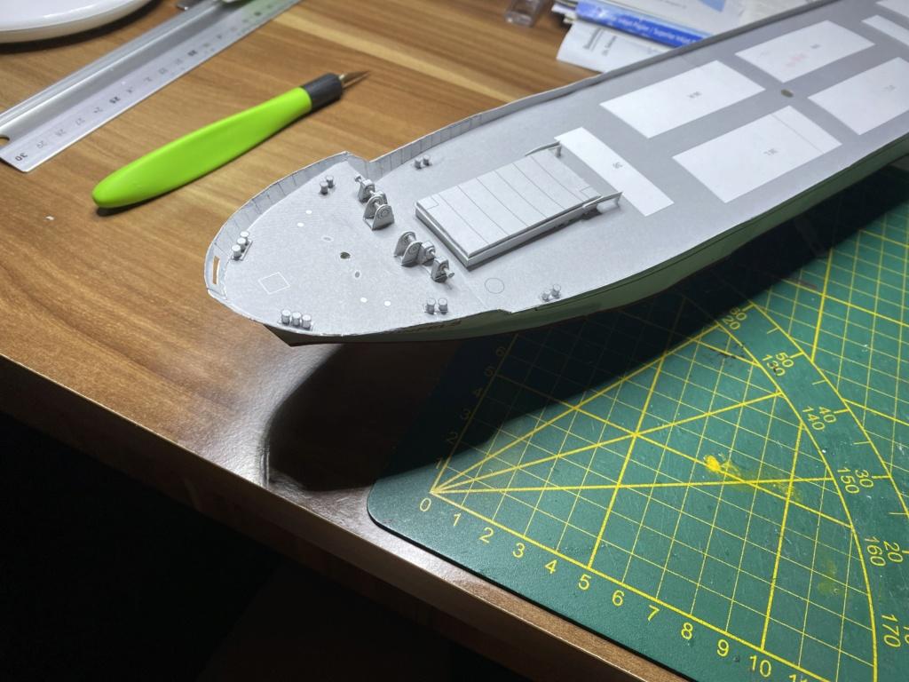 Schwergutfrachtschiff Braunfels der DDG Hansa 1:250 gebaut von Fleetmanager - Seite 6 Image144