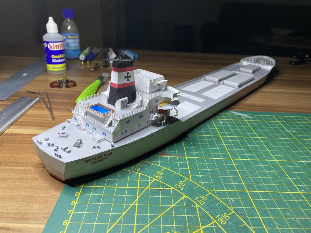 Schwergutfrachtschiff Braunfels der DDG Hansa 1:250 gebaut von Fleetmanager - Seite 6 Image153