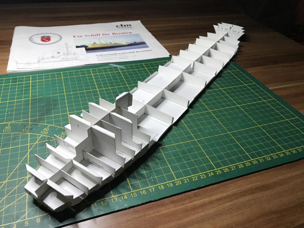 Schwergutfrachtschiff Braunfels der DDG Hansa 1:250 gebaut von Fleetmanager Image73