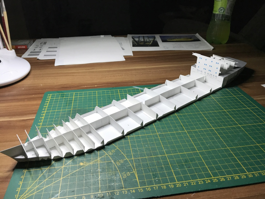 Schwergutfrachtschiff Braunfels der DDG Hansa 1:250 gebaut von Fleetmanager - Seite 2 Image80