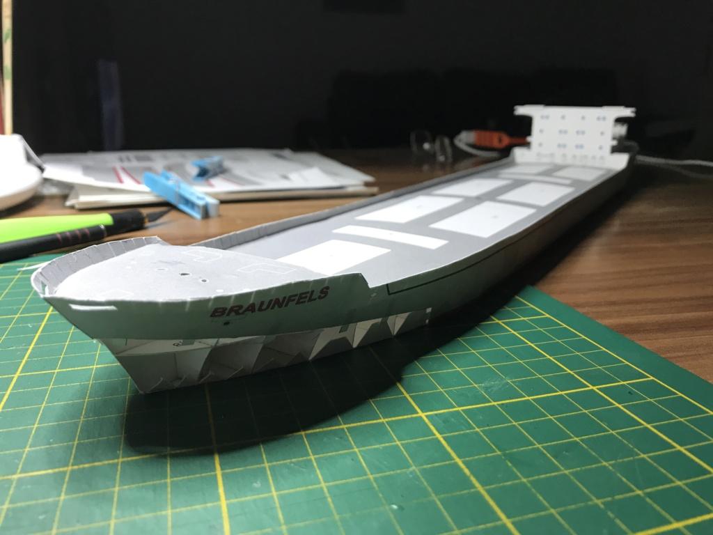 Schwergutfrachtschiff Braunfels der DDG Hansa 1:250 gebaut von Flettmanager - Seite 3 Image93