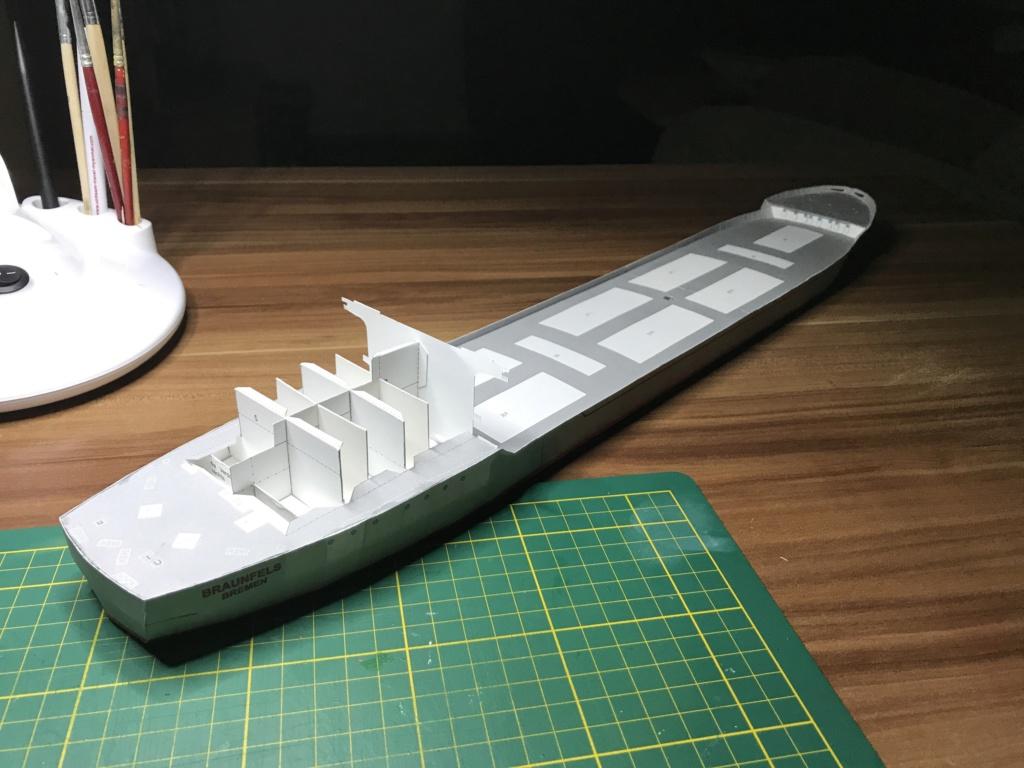Schwergutfrachtschiff Braunfels der DDG Hansa 1:250 gebaut von Fleetmanager - Seite 3 Image96