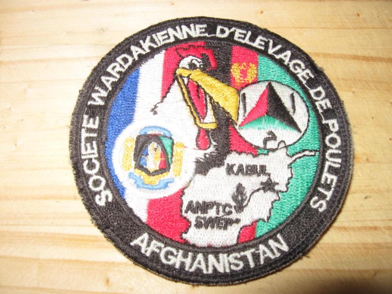 écusson gendarmerie prévôtale Djibouti Afgha_34