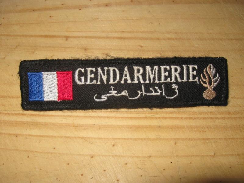 écusson gendarmerie prévôtale Djibouti Bande_12