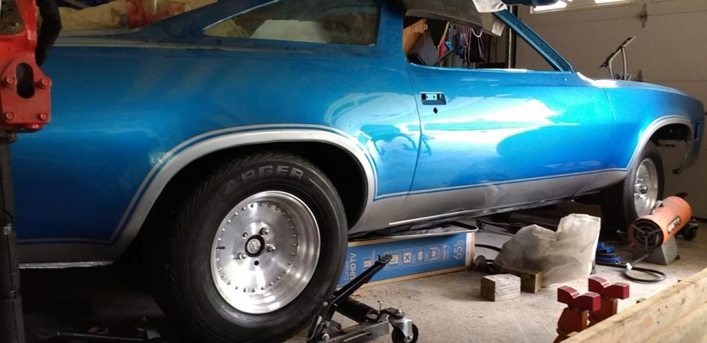 1973 Chevelle SS, 350, 4spd. build - Page 9 Chevel10