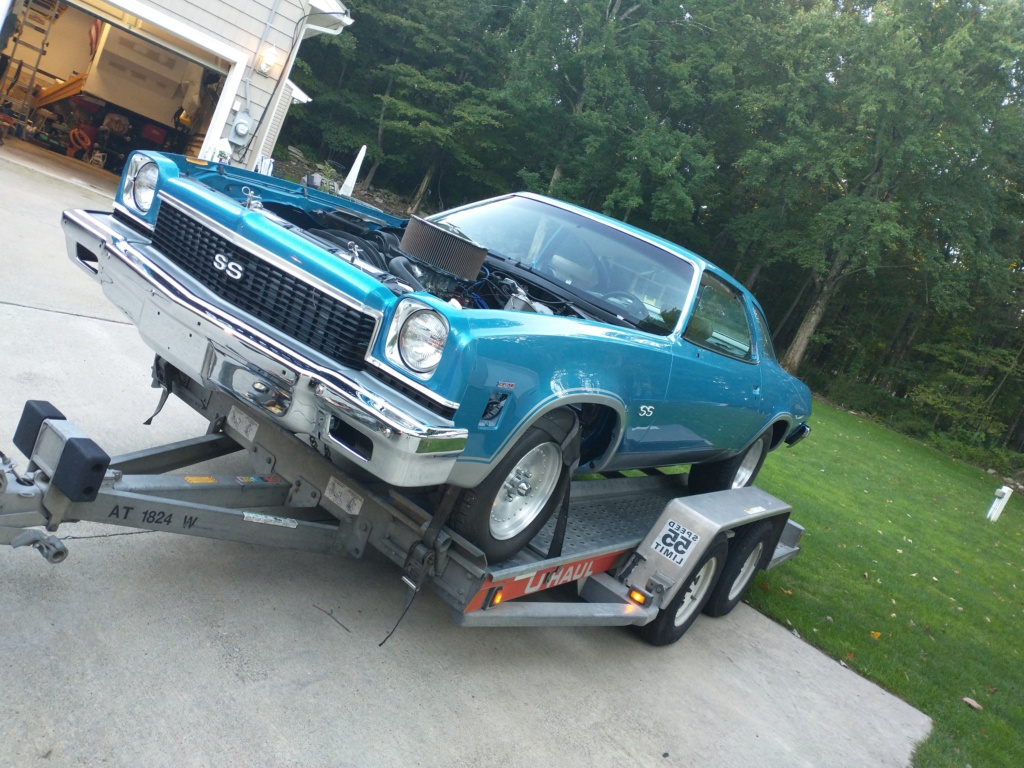 1973 Chevelle SS, 350, 4spd. build - Page 14 On_tra10