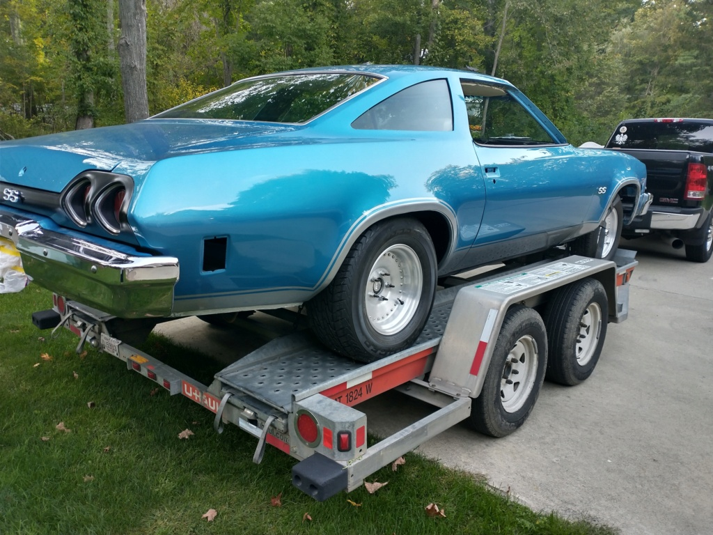 1973 Chevelle SS, 350, 4spd. build - Page 14 On_tra12