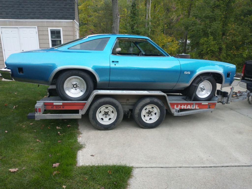 1973 Chevelle SS, 350, 4spd. build - Page 14 On_tra13
