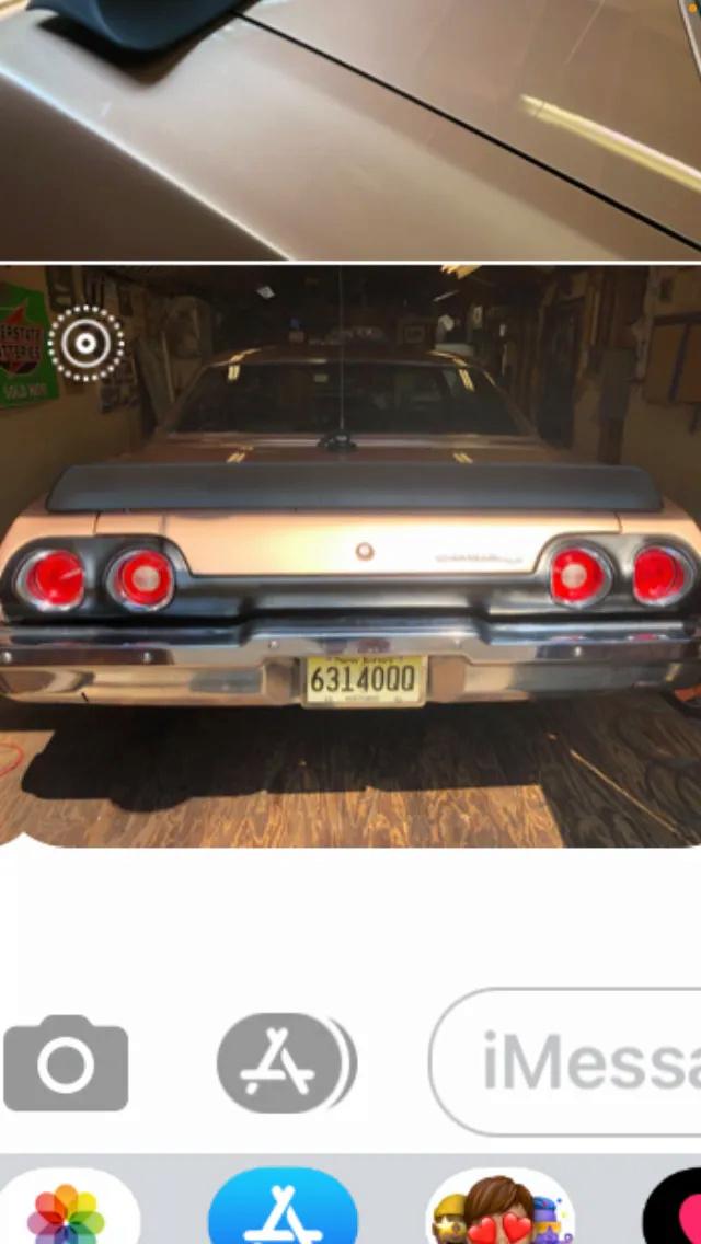 1973 Chevelle SS Rear Bumper Rear_b10