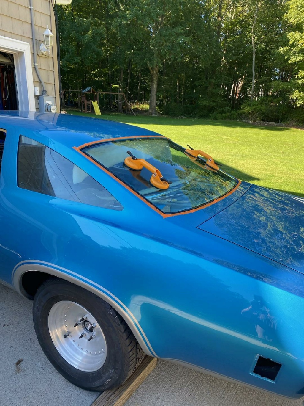 1973 Chevelle SS, 350, 4spd. build - Page 14 Rear_g11