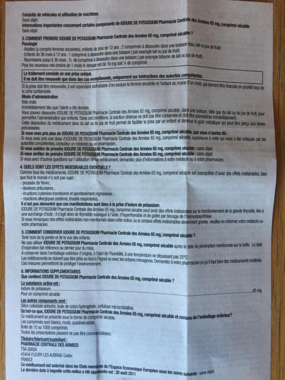 [Stock + Fabrication] Iodure de potassium (risque nucléaire) comprimés d'iode - Page 6 33fb3510