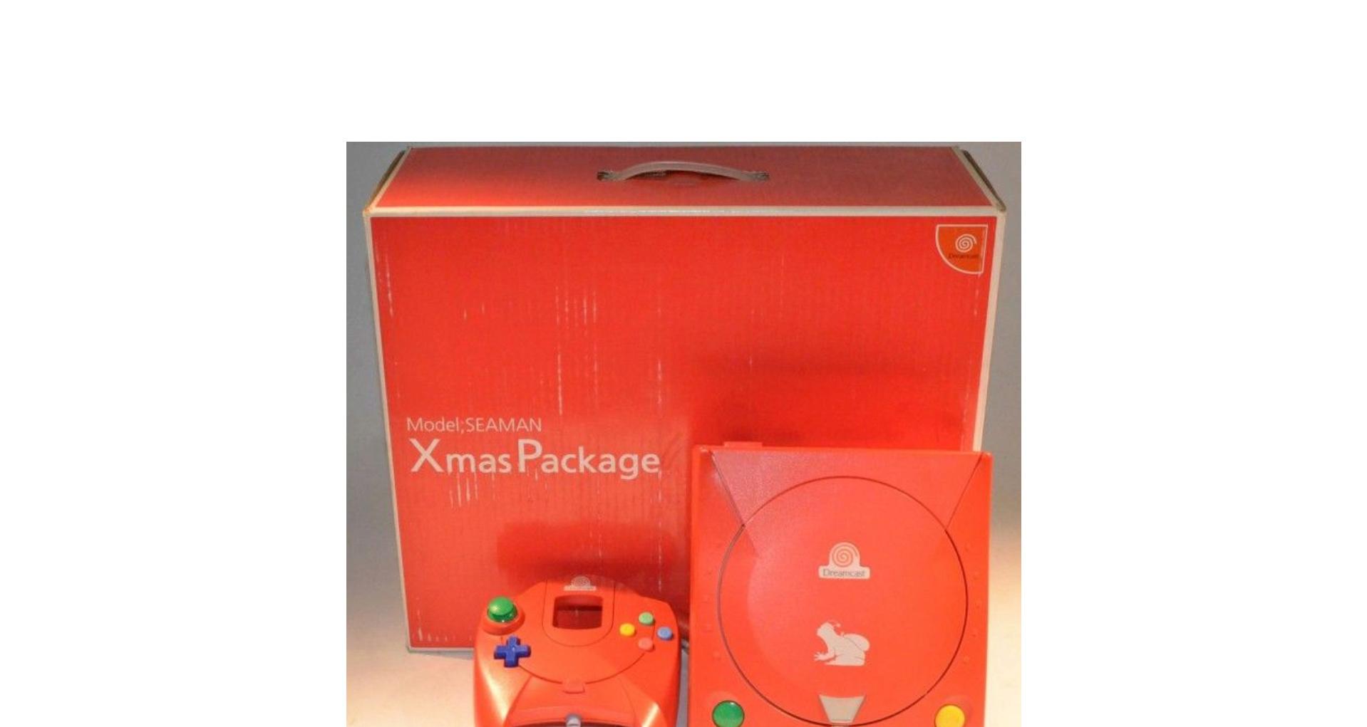 """Dreamcast limited edition """"XSMAS"""" et """"Clear SEAMAN"""" 1113"""