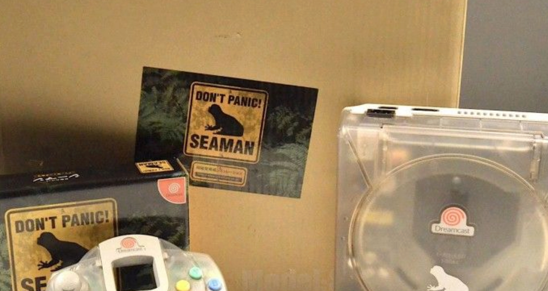 """Dreamcast limited edition """"XSMAS"""" et """"Clear SEAMAN"""" 2212"""