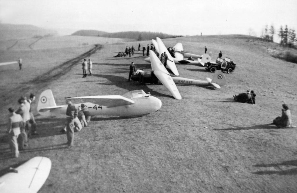 RAF Scharfoldendorf photos Glider10