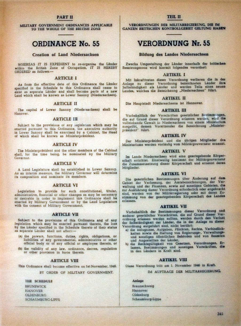 Happy 75th Birthday Niedersachsen/Lower Saxony Nieder10