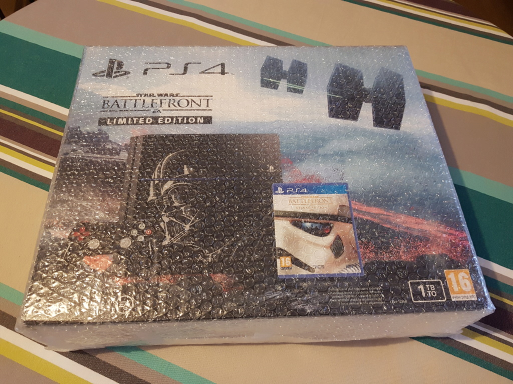 [ESTIM] Console PS4 collector Dark Vador 20181024
