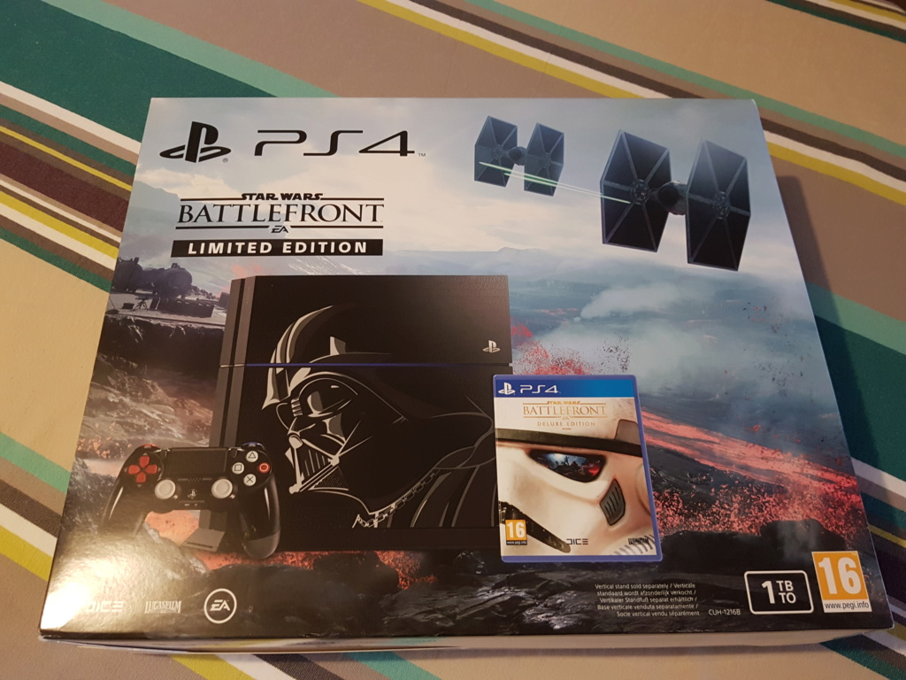 [ESTIM] Console PS4 collector Dark Vador 20181031