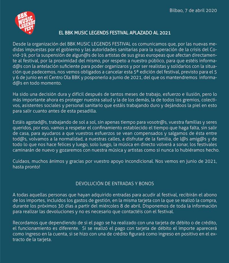 BBK Music Legends Festival 2020: Cancelado!!!!!! - Página 3 92360010