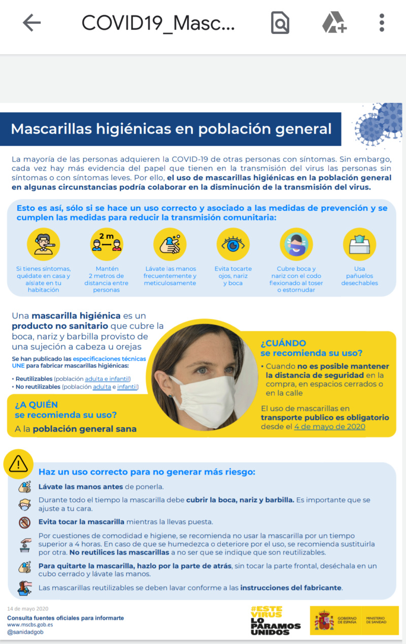 Mascarillas Screen27